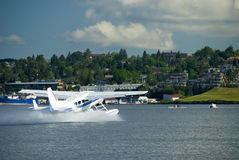 Sea Plane Take Off Stock Image