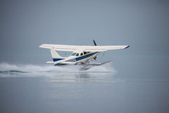 Sea Plane Taking Off Royalty Free Stock Image