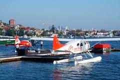 Sea Planes, Rose Bay, Sydney royalty free stock photo