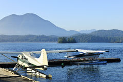 Sea planes in Tofino, Vancouver Island, Canada Stock Photography