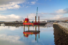 Sea platform in Dingle Stock Photography