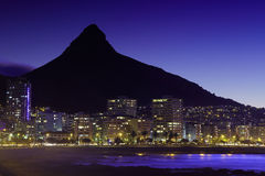Sea Point and Lion's Head Stock Photography