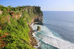 Sea point at ULUWATU temple Stock Images
