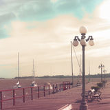 Sea port Royalty Free Stock Images