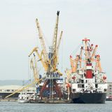 Sea port Stock Photography