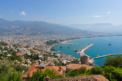 Sea port of Alanya Royalty Free Stock Photo