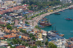 Sea port of Alanya Royalty Free Stock Images