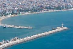 Sea port of Alanya Royalty Free Stock Photography