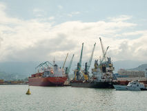 Sea port Batumi Royalty Free Stock Photography