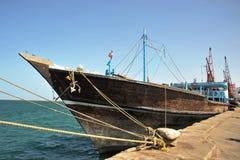 Sea port of Berbera. Sea port in the Gulf of Aden Royalty Free Stock Photo