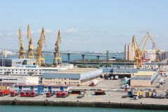 Sea port Stock Photo
