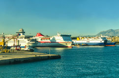 Sea port stock photography