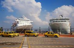 Sea port of Izmir. Turkey. Stock Images