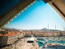Sea-port of Marseille Royalty Free Stock Photo