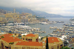 Sea port of Monte-Carlo Royalty Free Stock Image