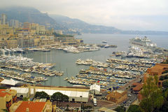 Sea port of Monte-Carlo Royalty Free Stock Photo