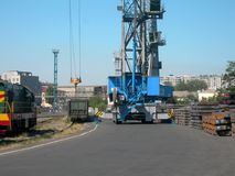 Sea port of Novorossiysk royalty free stock photos