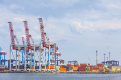 Sea port of Odessa, Black Sea, Ukraine Stock Photography
