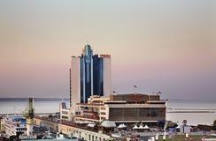 Sea port in Odessa. Ukraine Stock Image