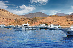 Sea port of Sharm el-Sheikh, Egypt, Africa Stock Photography