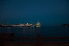 Sea port Royalty Free Stock Image