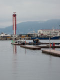 Sea port of Sochi Royalty Free Stock Photography