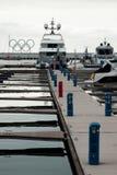 Sea port of Sochi Stock Image