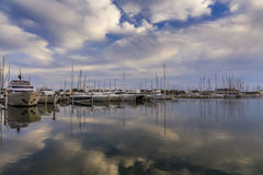 Sea port. South of France. Languedoc. Stock Photo
