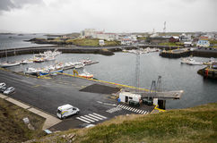 Sea port of Stykkisholmur, Iceland Stock Images
