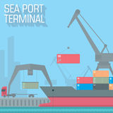 Sea port Stock Photos