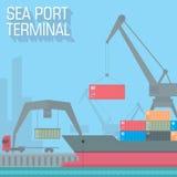 Sea port Stock Photos