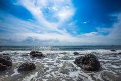The sea at prachuabkhirikhan Stock Photo