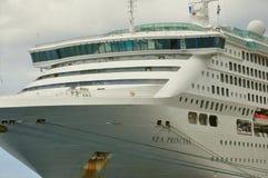 Sea Princess cruise ship Stock Images