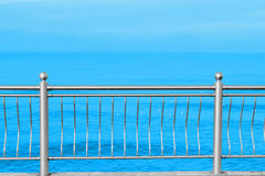 Sea promenade summer holiday vacation vintage. Background Royalty Free Stock Images