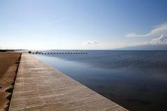 Sea promenade Royalty Free Stock Image