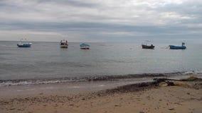 The sea of the Puglia on the coastal Ionico stock footage
