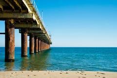 Sea and quay Stock Photos