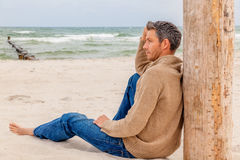 Sea relaxing Royalty Free Stock Photo
