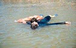 Sea rescue Stock Photos
