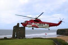 Sea rescue storms Royalty Free Stock Photo