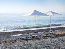 Sea resort royalty free stock photography