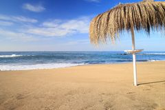 Resort landscape, Canary Islands. Sea resort landscape, Canary Islands stock photos