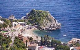 Sea resort Taormina Stock Photo