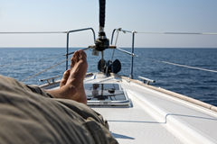 Sea rest Stock Images