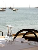 Sea restaurant royalty free stock images