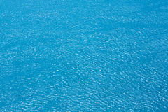 Sea or river top view water background Royalty Free Stock Photography