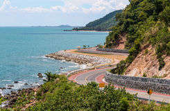 Sea road Stock Photo