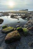 Sea rock coastal Royalty Free Stock Image