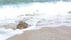 Sea and rock stock footage
