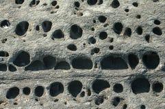 Sea rock surface closeup Royalty Free Stock Photography